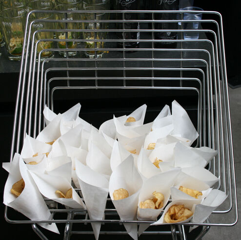 De chips van de Fish & Chips @ Tophop