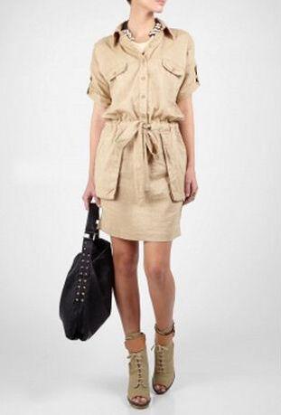 By Malene Birger Laree Safari Blouse Jurk | My Wardrobe