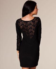 Esmeralda jurk met kanten rug   Nelly.com