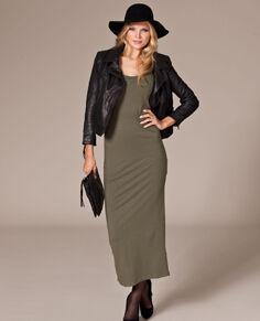 Rut m.fl. lange jersey jurk   Nelly.com