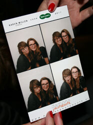 Karen Millen voor Specsavers launch