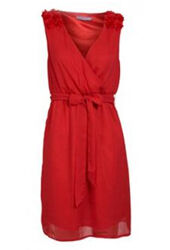 Party dress rood | Jurkjes.nl