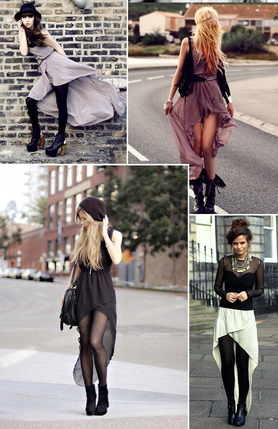 How to wear: jurkjes met langere achterkant | Jurkjes.nl