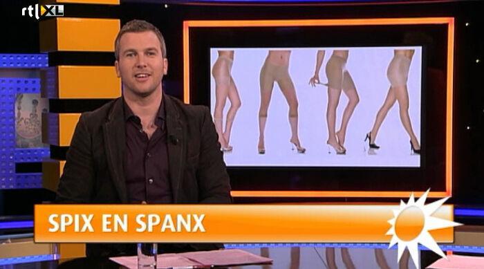 Spix en Spanx bij RTL Boulevard