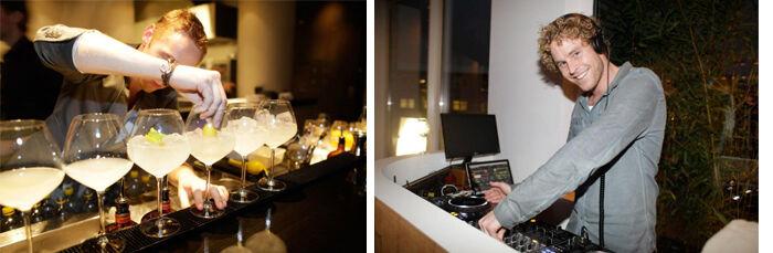 Cointreau cocktails & DJ Alamaison bij Love to Have lancering