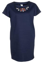 Vero Moda zakelijk jurkje blauw