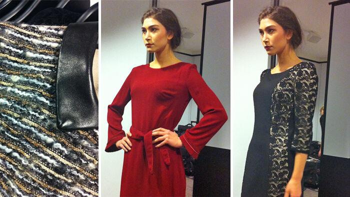 Modeshow van Axara voor de Fall Winter 2013 collectie
