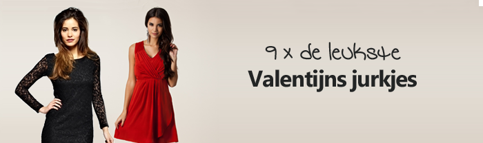 Valentijns jurkjes 9x de leukste