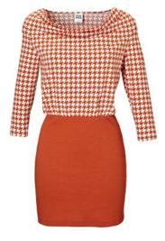 Oranje jurkje Vero Moda