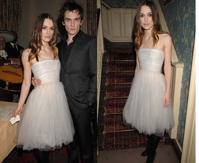 Keira Knightley in de Rodarte jurk in 2008