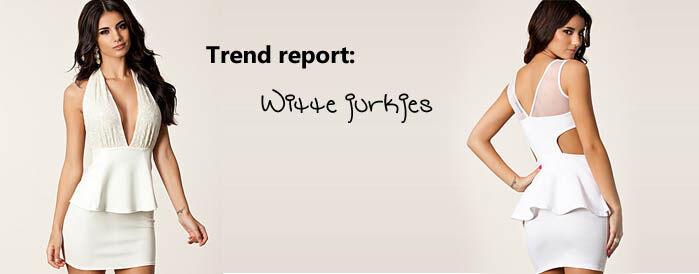 Witte jurkjes trend   Jurkjes.nl