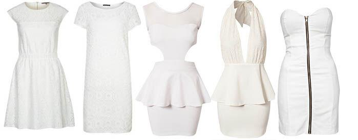 Witte jurkjes online   Jurkjes.nl