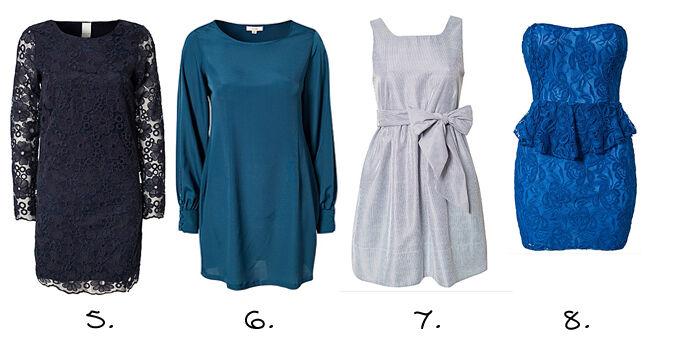 Blauwe jurkjes online   Jurkjes.nl