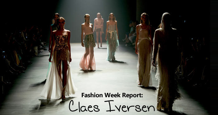 Amsterdam Fashion Week Report: Claes Iversen Juli 2013