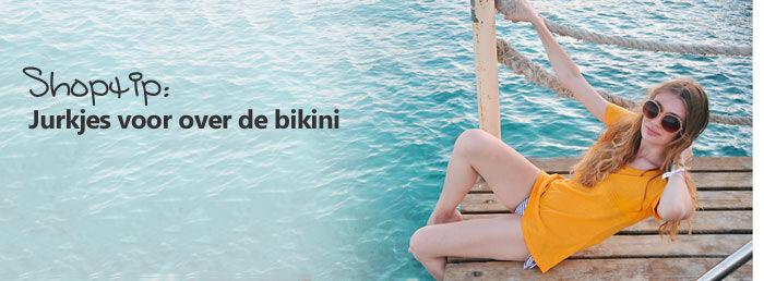 Jurkjes voor over de bikini, tuniekjes