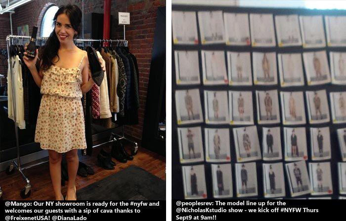 Backstage bij New York Fashion Week