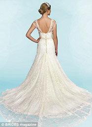 Perfecte bruidsjurk achterkant