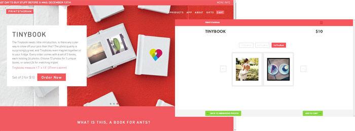 Printstagram Tinybook
