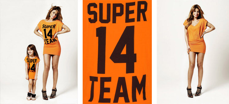 WK oranje jurkje SuperTrash