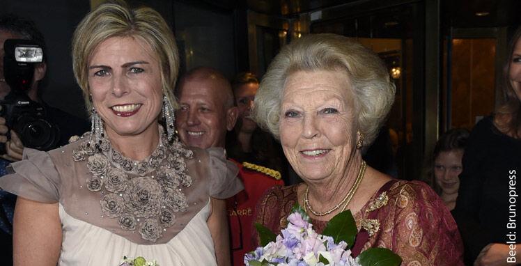 Prinsessen Beatrix en Leontien