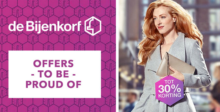 bijenkorf proud offers