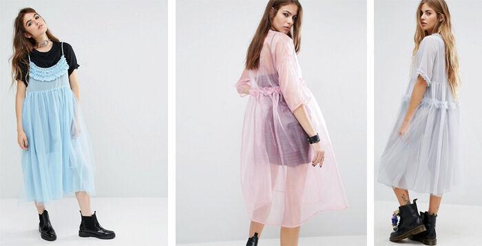 jurk van tule