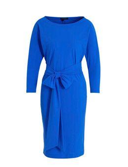 Jersey jurk Caroline blauw