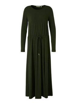 Jersey jurk donkergroen