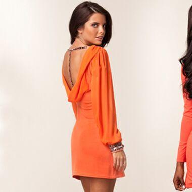 Oranje jurkjes voor Koninginnedag 2012