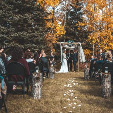 Inspiratie: jurk voor bruiloft in de herfst