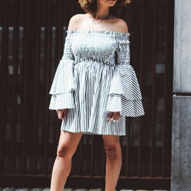 Off shoulder jurk: het perfecte item voor deze zomer!